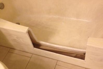 Bathtub Cutout Conversion to Shower Sun City 623-210-0720
